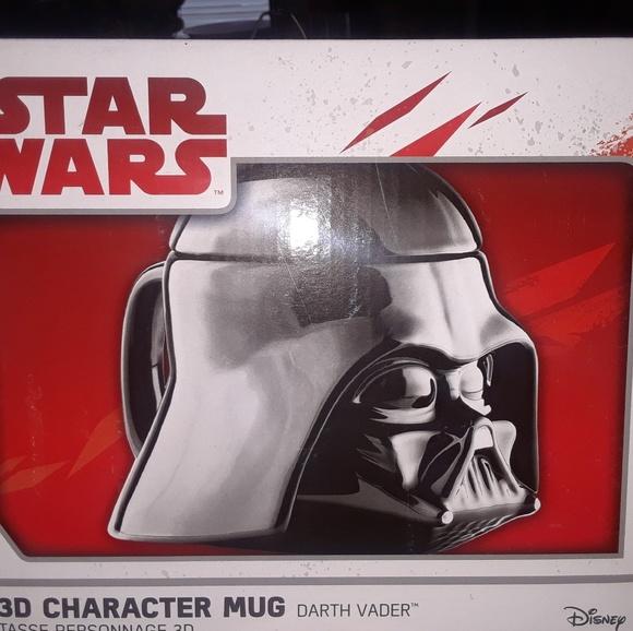 Star Character Darth Mug 3d Vader Wars Nwt bYf6g7y